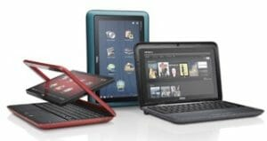 image of laptop computer models, image from Shutterstock.com