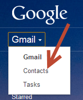gmailmainmenutocontacts