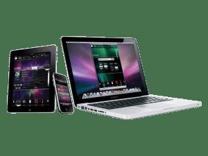 Images of iPad-iPhone-MacBook-Pro