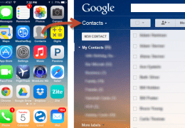How to Get iPhone Contacts into Gmail's Contacts