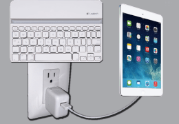 Charge your iPad and Keyboard at the same time!