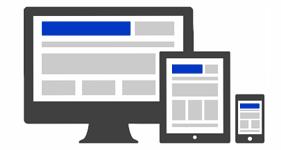 Responsive Website Theme graphic