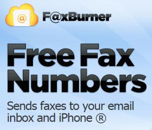 FaxBurner.com's logo screenshot