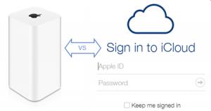 Apple Time Capsule versus iCloud