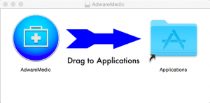Screenshot of AdwareMedic progam installation
