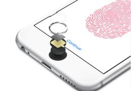 Setting up Touch ID on iPhone/iPad