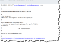 More on Phishing