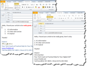 examples-plaintext-and-html-formatted-messages