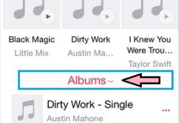 Music on iPhone