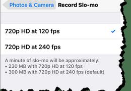 iPhone Slo-mo