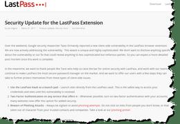 LastPass Worries