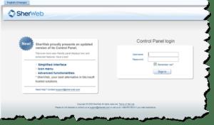 sherweb-control-panel-screenshot