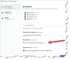 google-backup-and-sync-preferences-screenshot