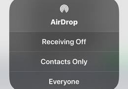 Airdrop Caution