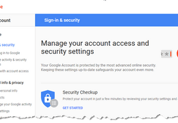 Google-Gmail Security