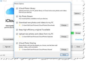 icloud-for-windows-settings-screenshot