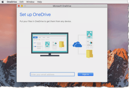 Using MS OneDrive on Mac