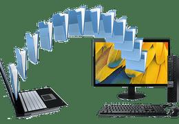Share Document Laptop to Desktop